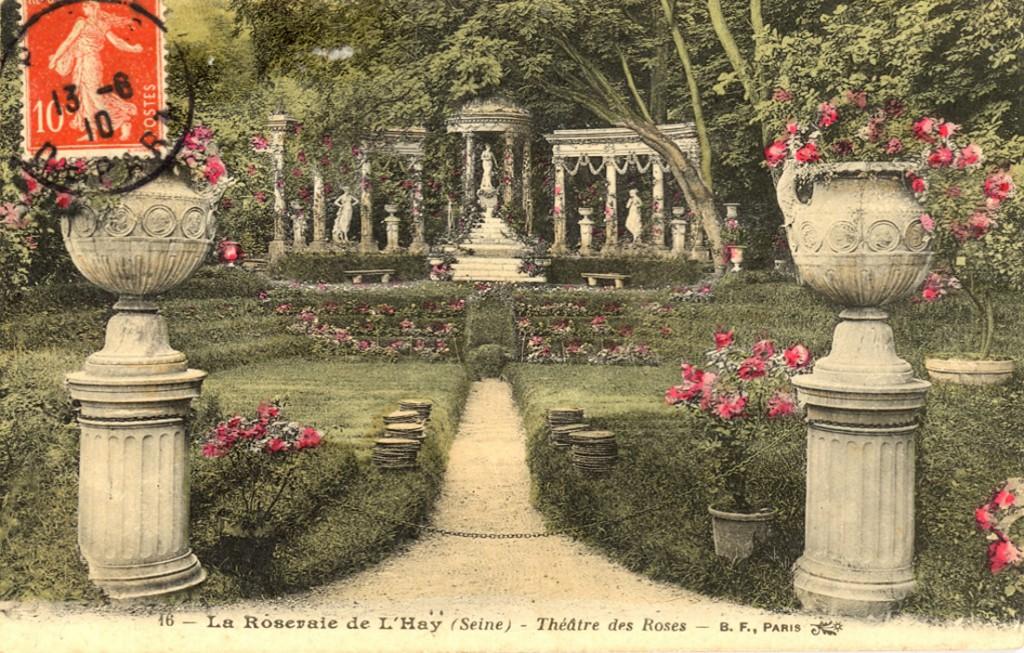 162-3 16 La Roseraie de L'Hay (Seine) - Theatre des Roses_wp