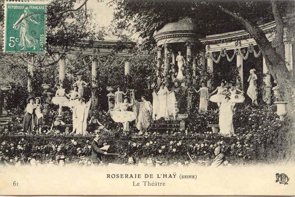 169-1 61 Roseraie de L'HAY (Seine) - Le Theatre_wp