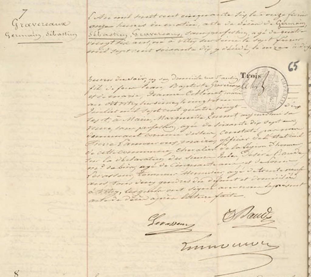 1856-02-11 GRAVEREAUX, Germain Sebastien - Deces_wp