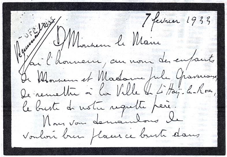 1933-02-07 Gravereaux, Henri - Don du buste p1_wp